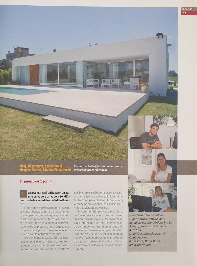Galeria de fotos  Casa C, Lga - La Gaceta de los Arquitectos 103