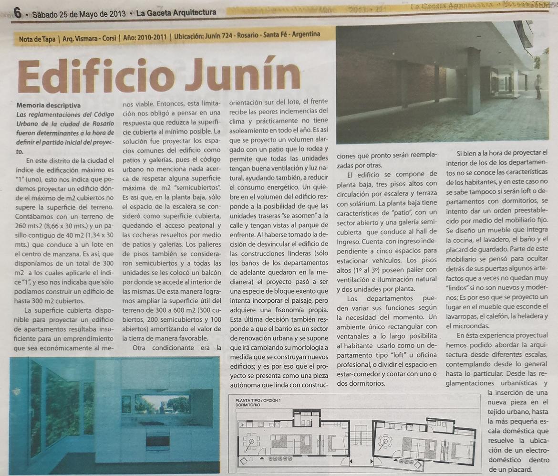 Edificio Junín, La Gaceta Arquitectura